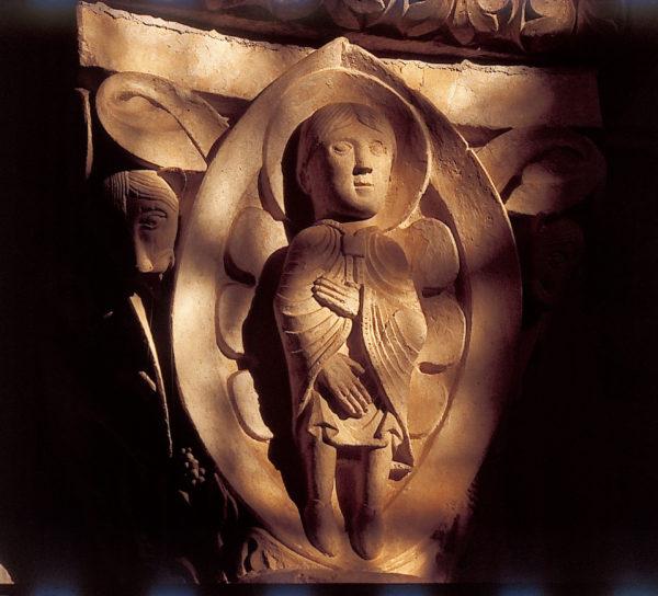 """""""Au milieu des lions"""" Basilique de Vézelay"""